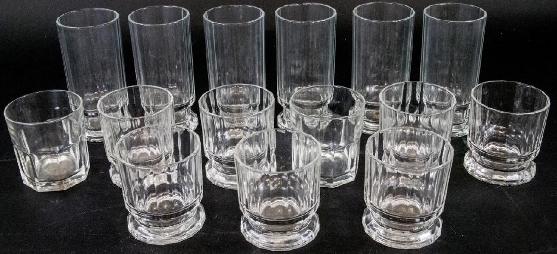 Lot of Mid Century Dansk Glass Drink Ware