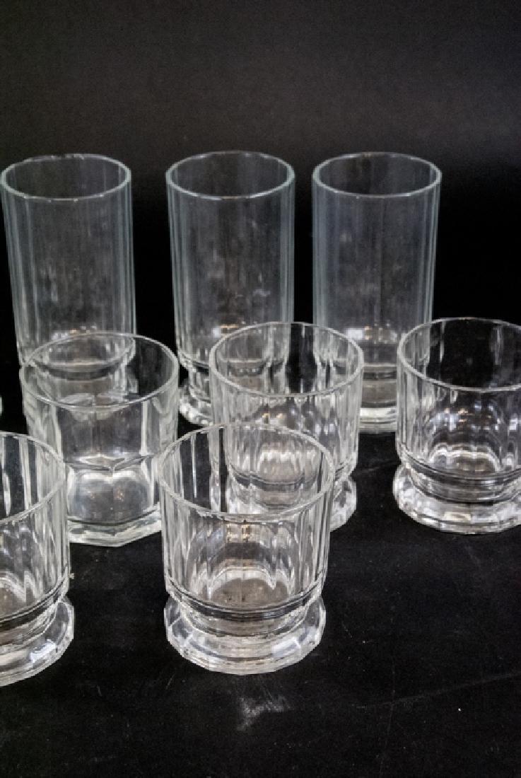 Lot of Mid Century Dansk Glass Drink Ware - 2