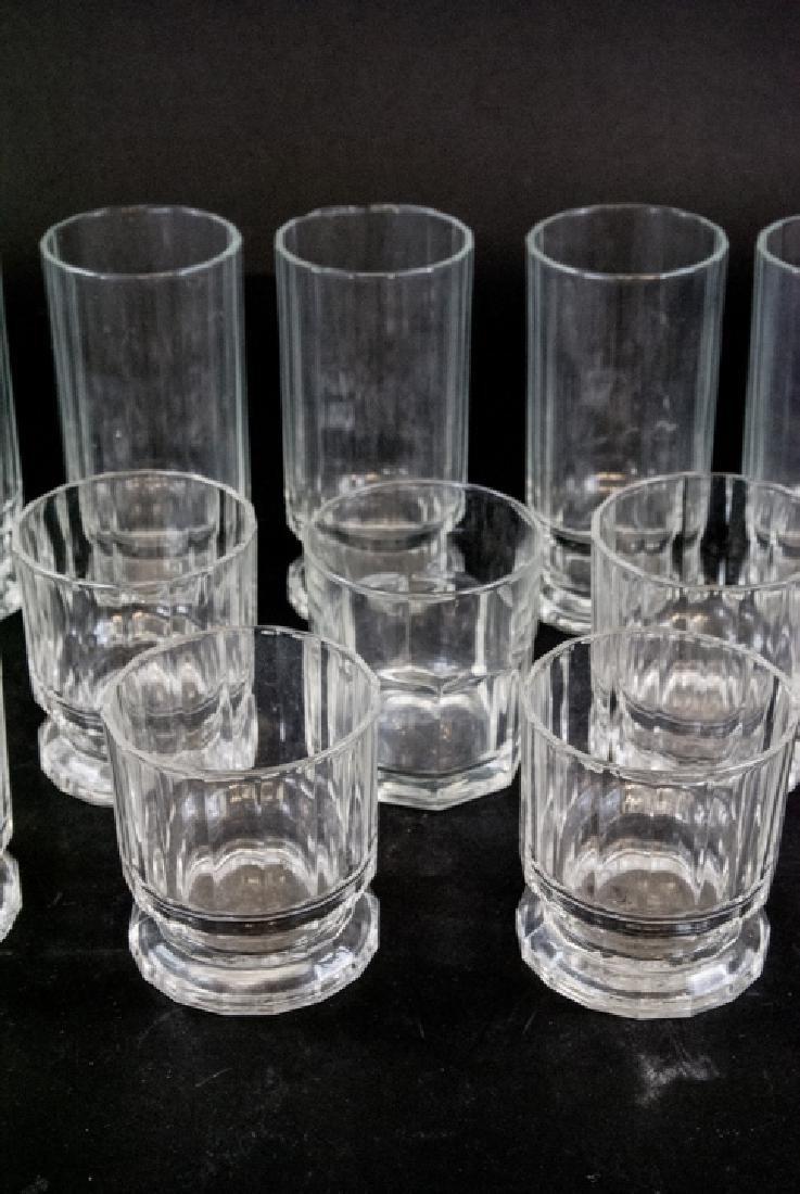 Lot of Mid Century Dansk Glass Drink Ware - 5