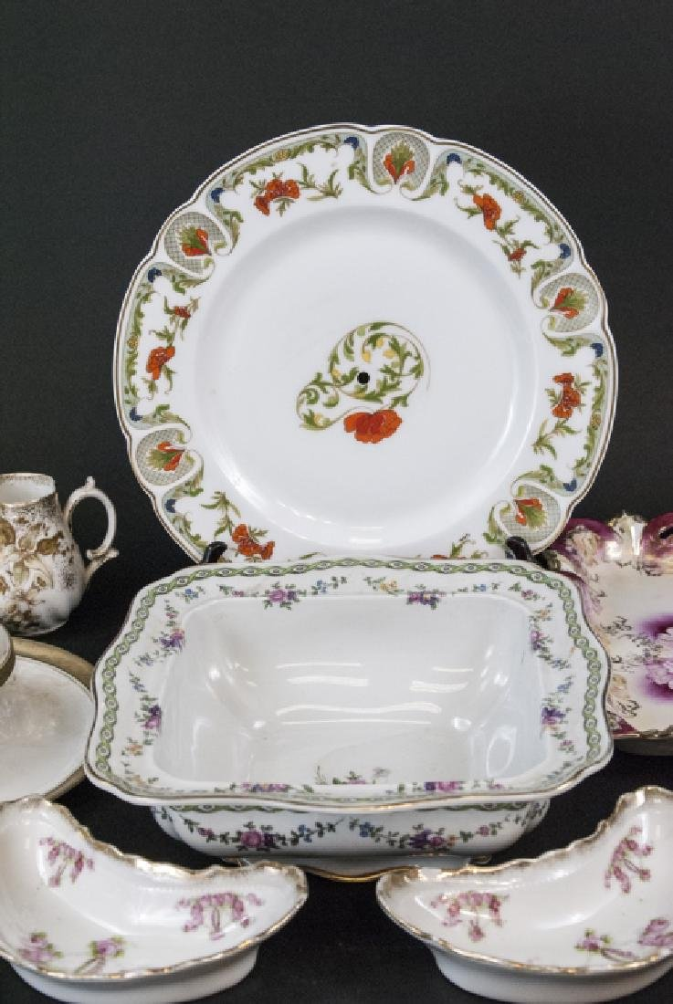 Lot of Bavarian Porcelain Serve Ware Items - 2
