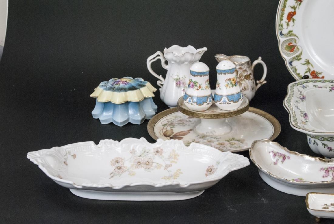 Lot of Bavarian Porcelain Serve Ware Items - 3