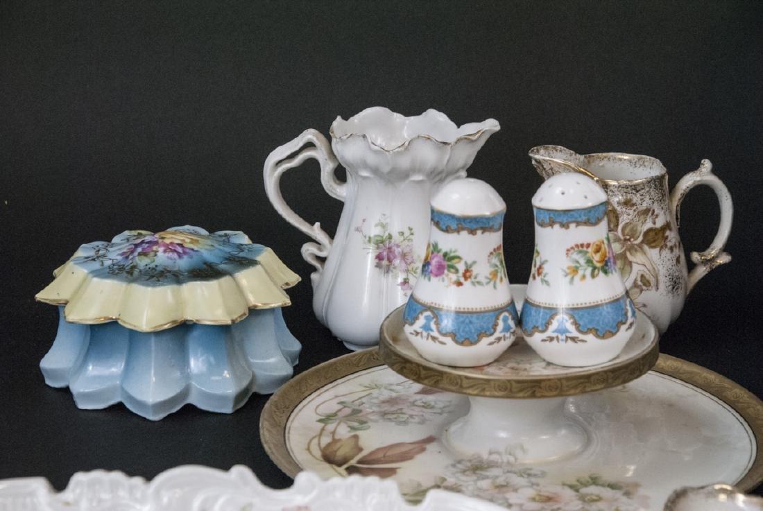 Lot of Bavarian Porcelain Serve Ware Items - 4