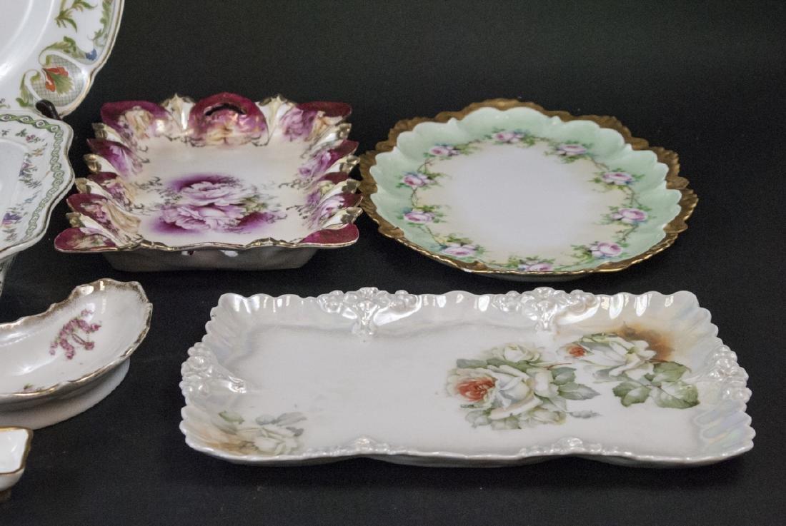 Lot of Bavarian Porcelain Serve Ware Items - 6