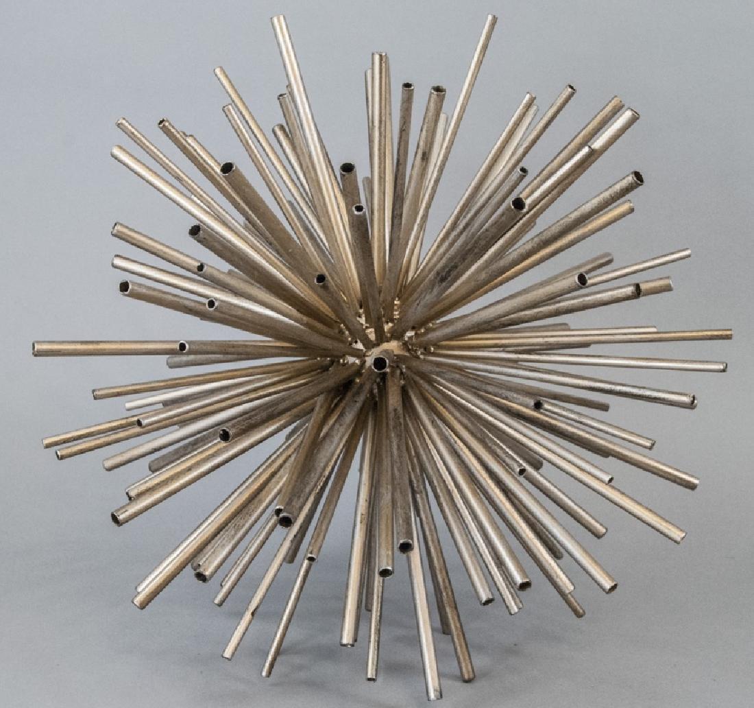 Contemporary Metal Starburst Decorative Object