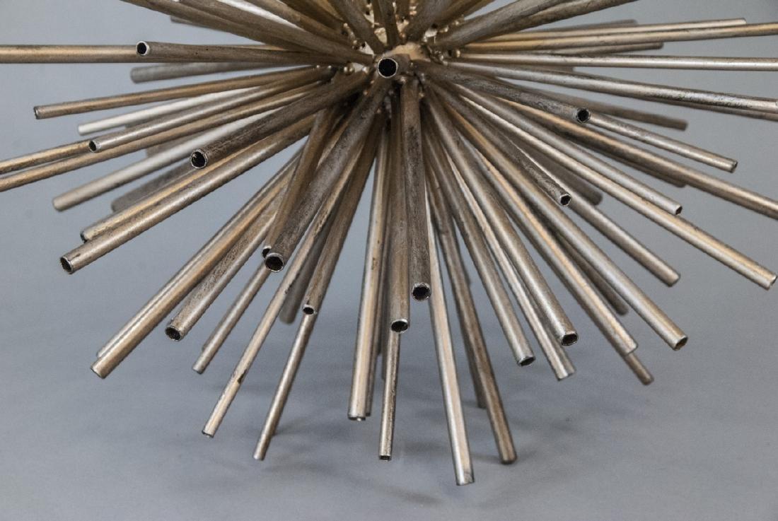 Contemporary Metal Starburst Decorative Object - 3