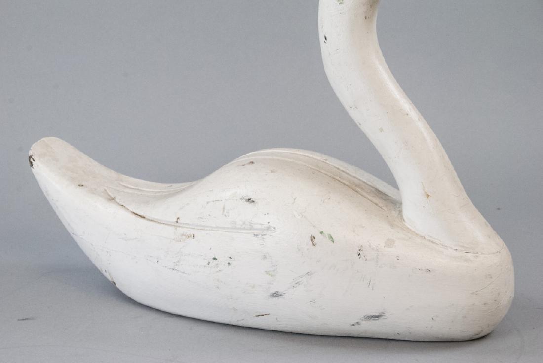 Hand Made Vintage Swan Decoy - 4