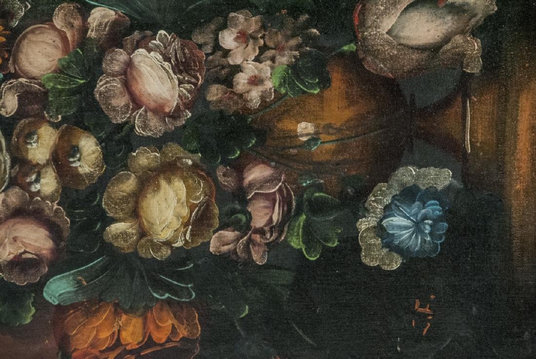 Mid C Oil Painting Floral Still Life - 5