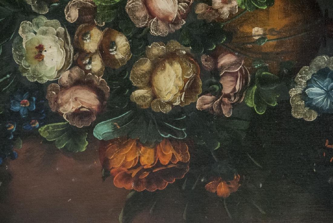 Mid C Oil Painting Floral Still Life - 6