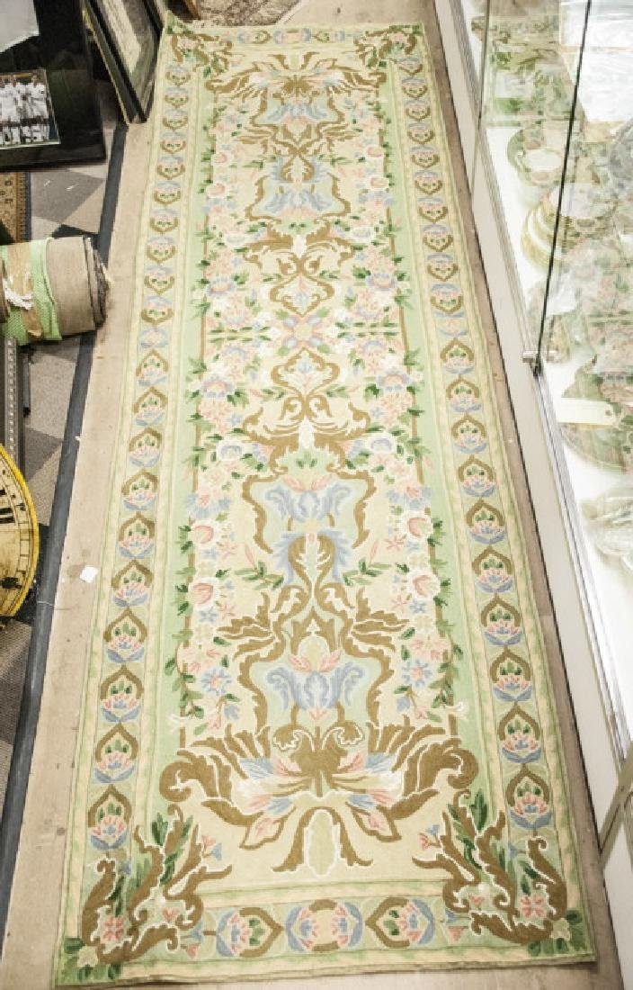 Hand Made French Baroque Style Tapestry Runner