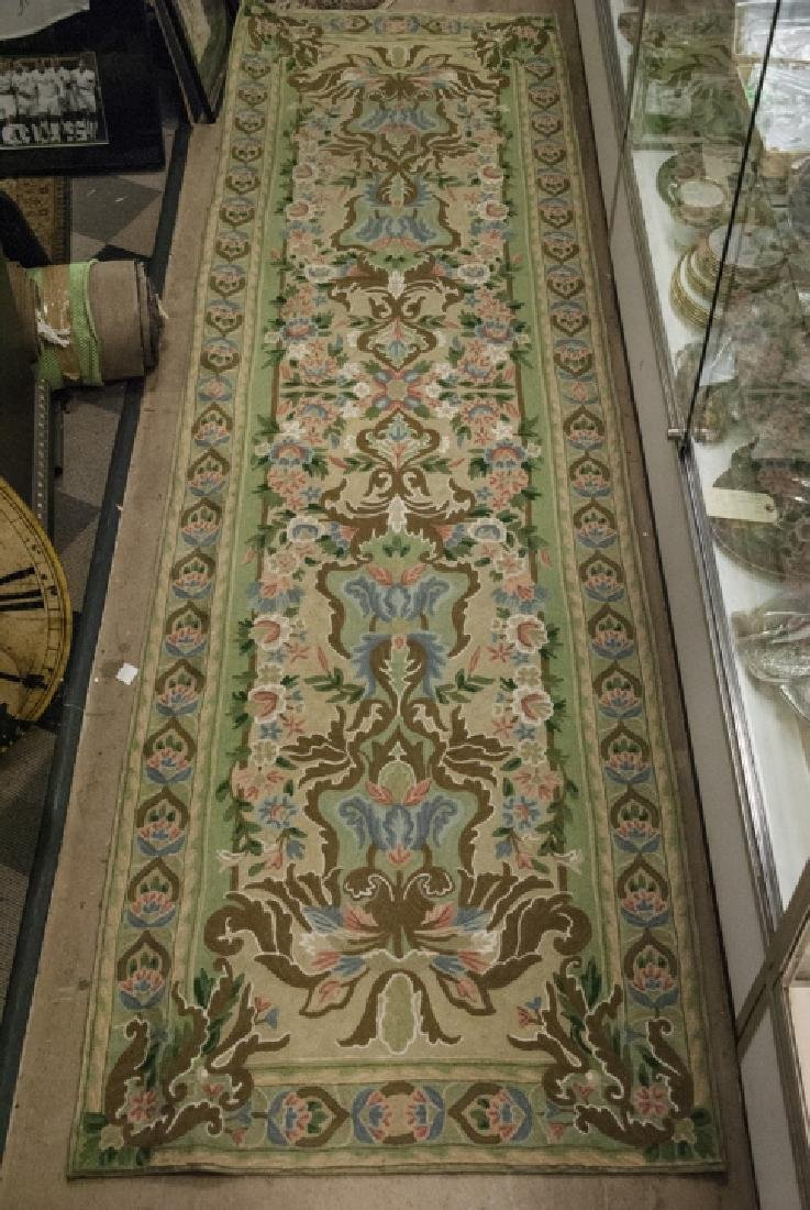 Hand Made French Baroque Style Tapestry Runner - 2