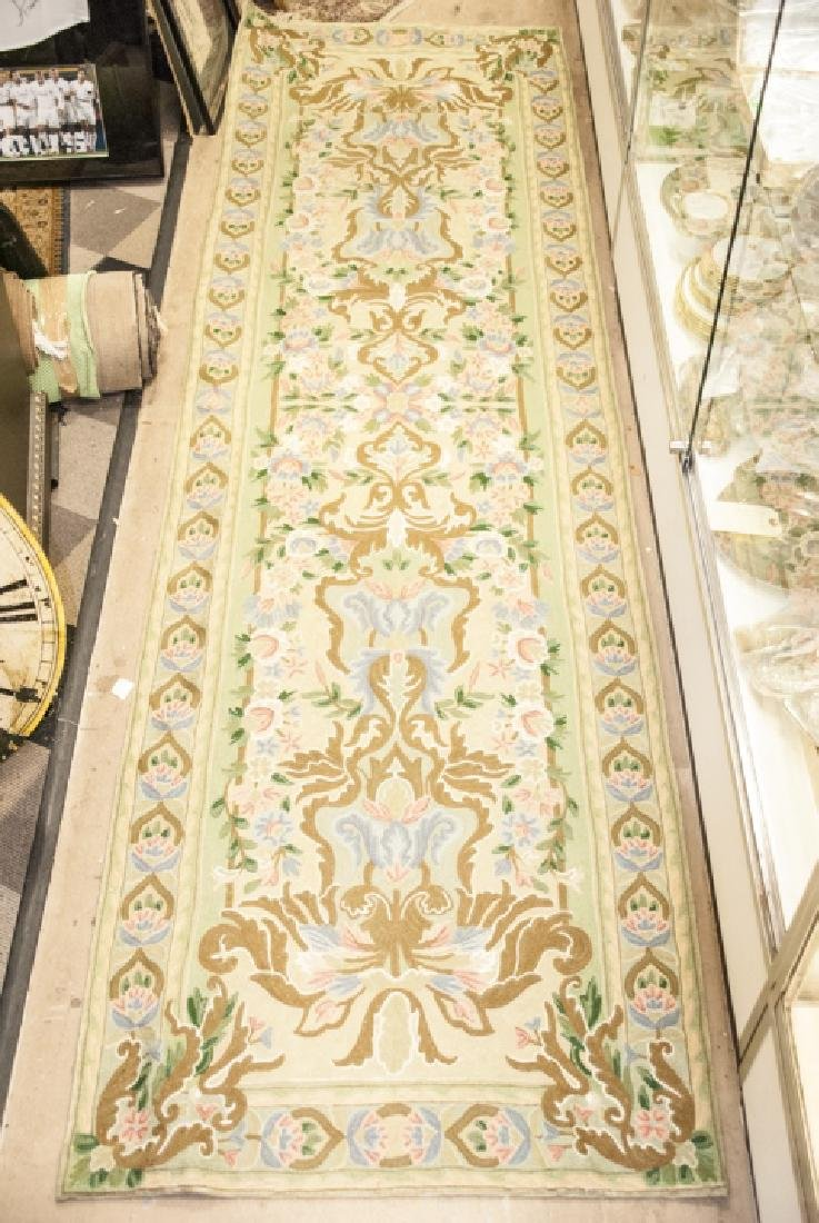 Hand Made French Baroque Style Tapestry Runner - 3