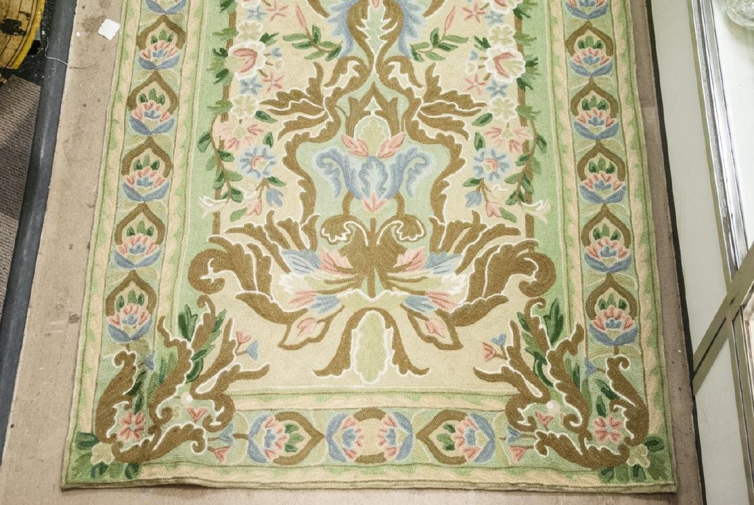 Hand Made French Baroque Style Tapestry Runner - 4