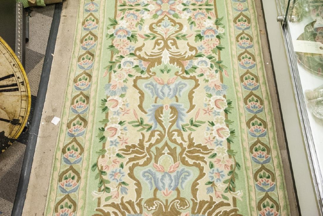 Hand Made French Baroque Style Tapestry Runner - 5