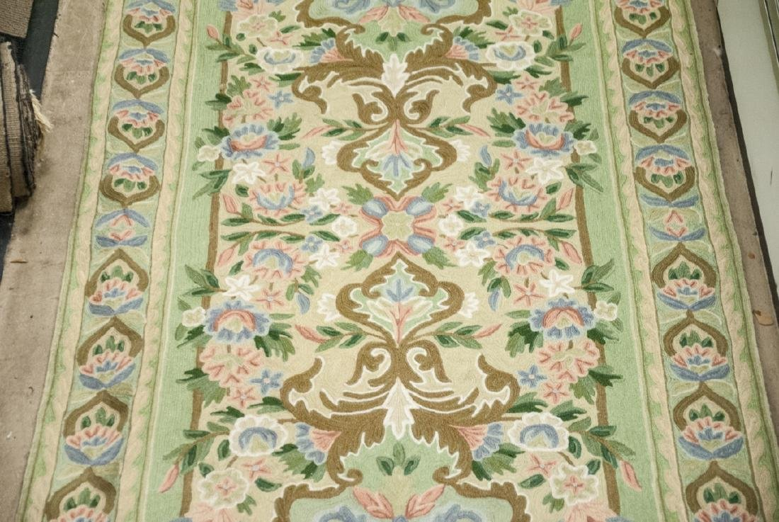 Hand Made French Baroque Style Tapestry Runner - 6