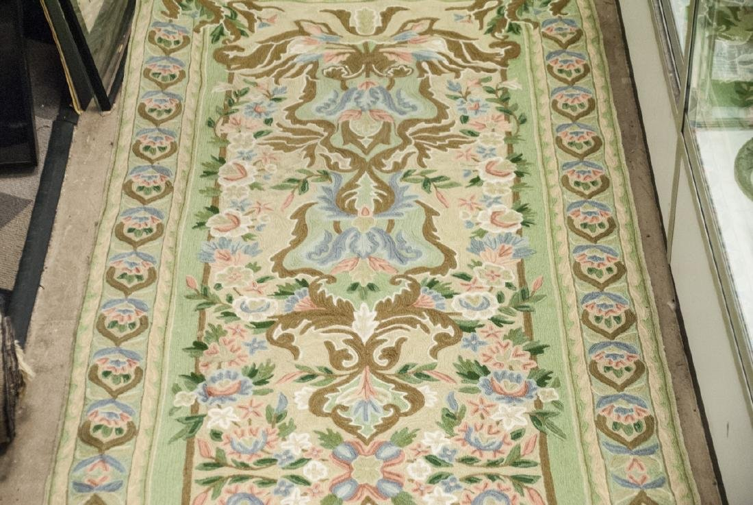 Hand Made French Baroque Style Tapestry Runner - 7