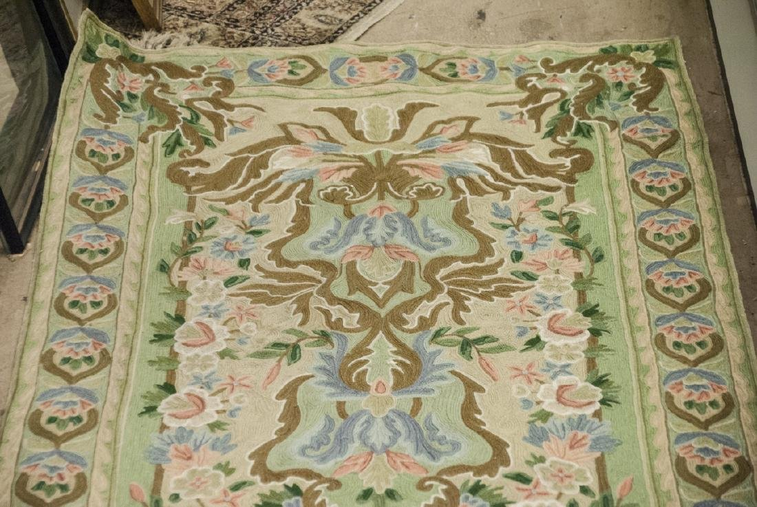 Hand Made French Baroque Style Tapestry Runner - 8
