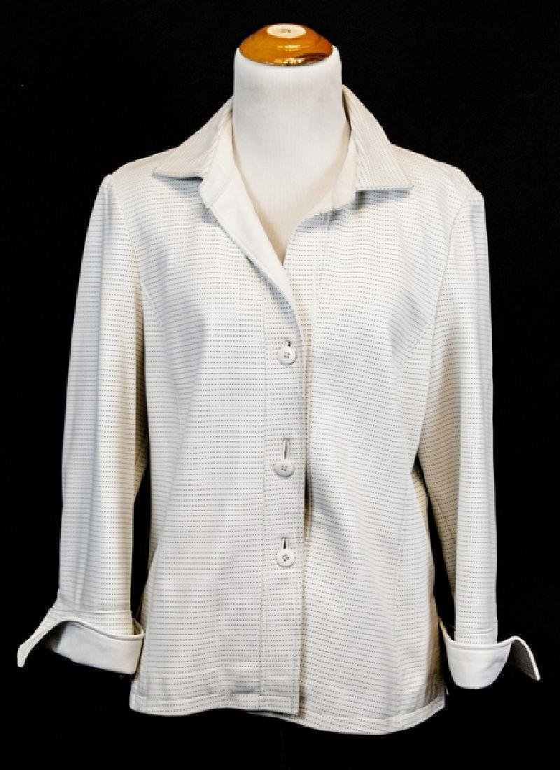 Vintage Saks Jandel Womens Lamb Skin Blazer / Coat