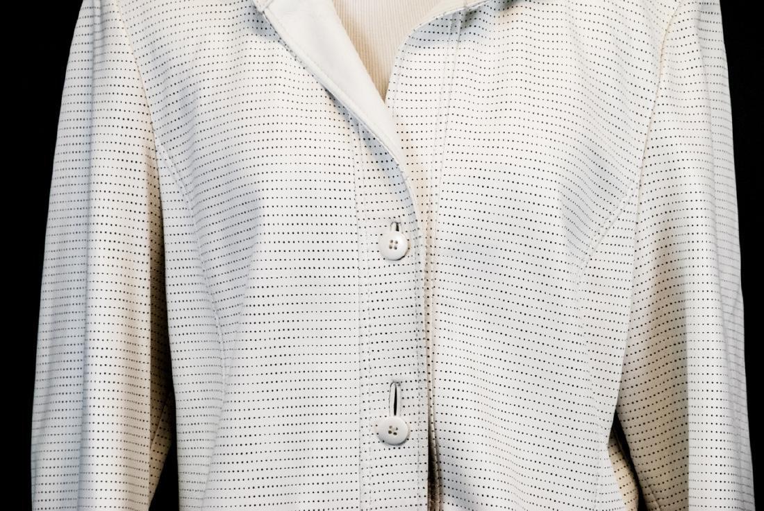 Vintage Saks Jandel Womens Lamb Skin Blazer / Coat - 3