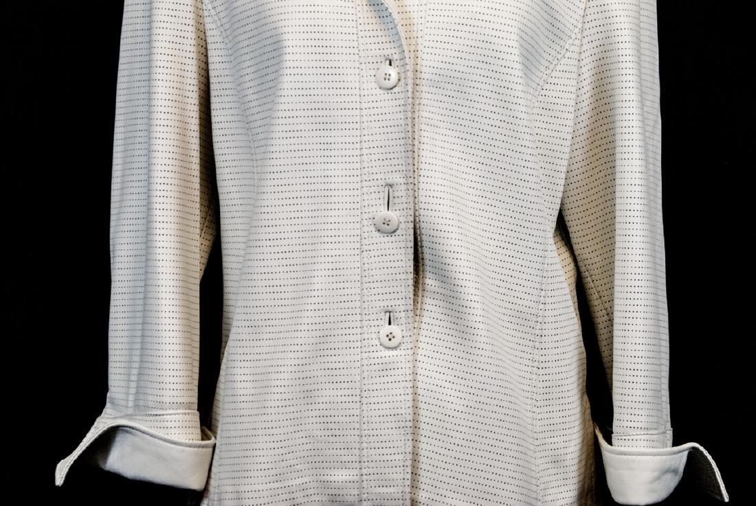 Vintage Saks Jandel Womens Lamb Skin Blazer / Coat - 4