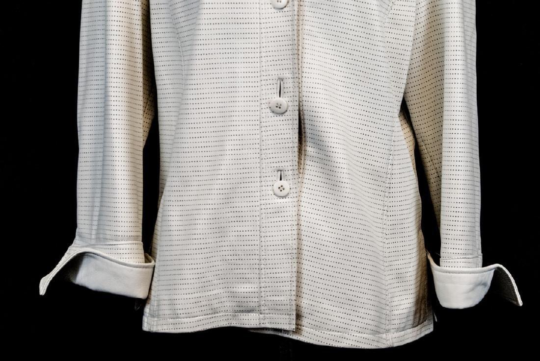 Vintage Saks Jandel Womens Lamb Skin Blazer / Coat - 5