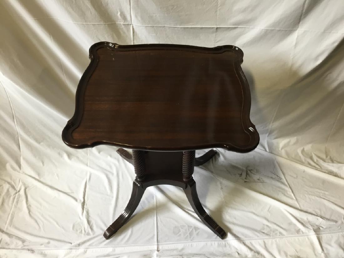 Regency Style Mahogany Side Table - 2
