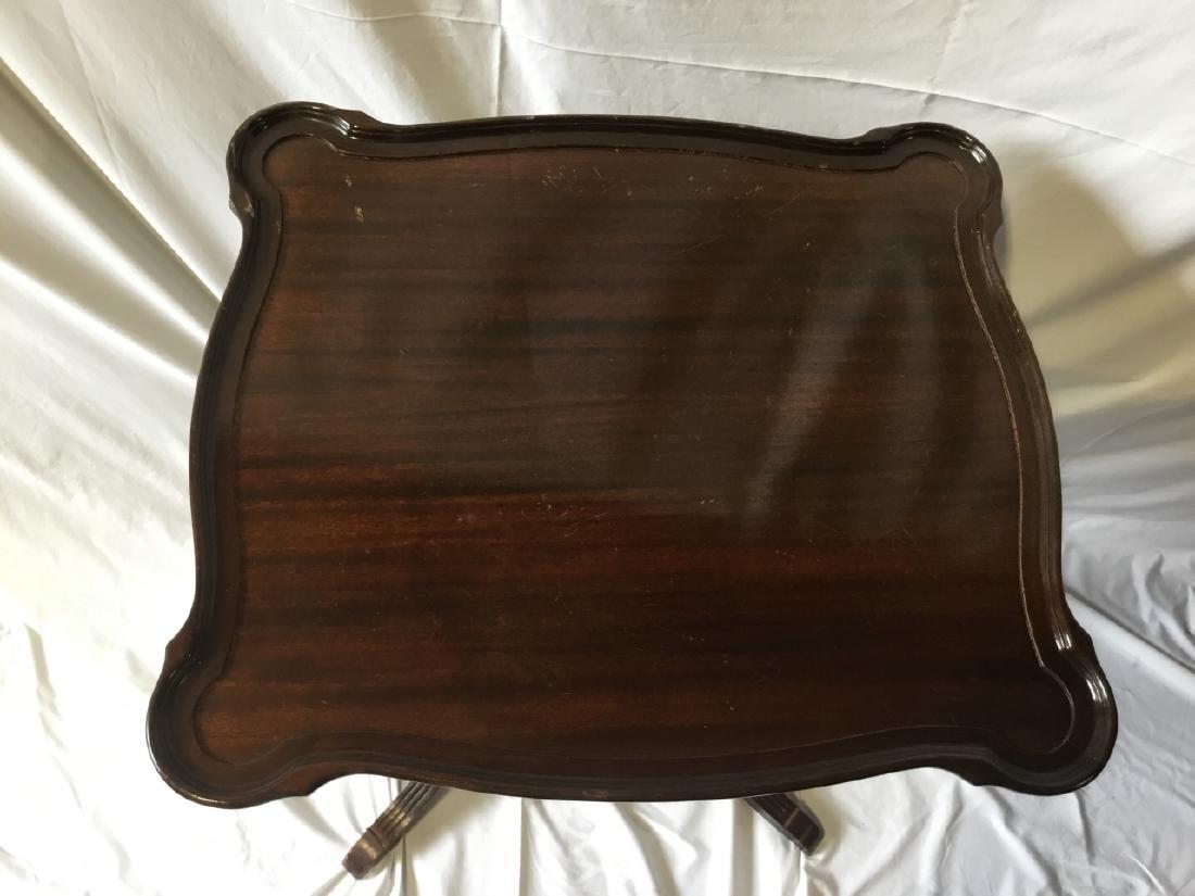 Regency Style Mahogany Side Table - 4