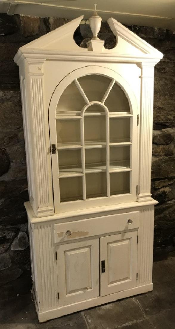 Antique American Federal Style China Cabinet