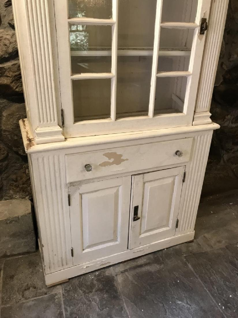 Antique American Federal Style China Cabinet - 2