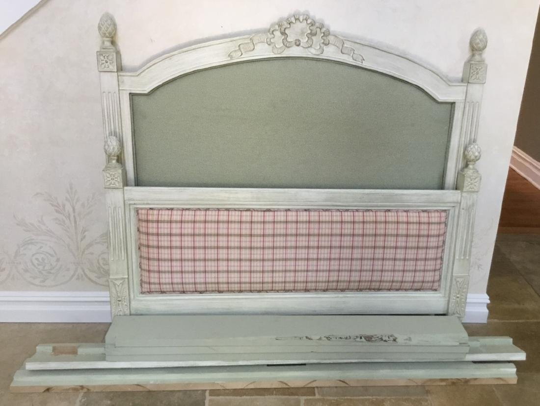 French Provincial Style Full Size Head Foot Board