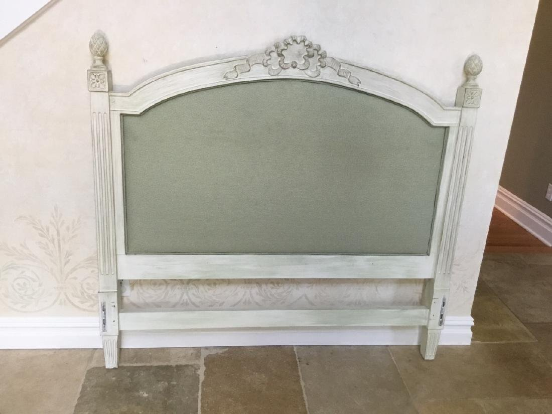 French Provincial Style Full Size Head Foot Board - 2