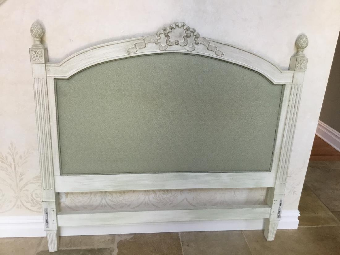 French Provincial Style Full Size Head Foot Board - 3