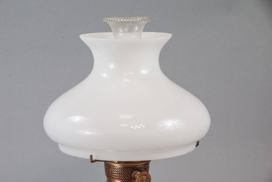 Miller Vestal Copper Converted Oil Lamp - 3