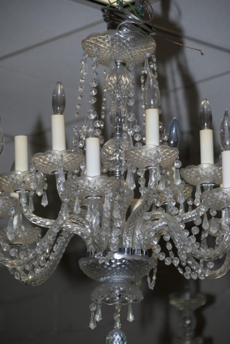 Crystal Chandelier w Two Tiers of Arms - 5