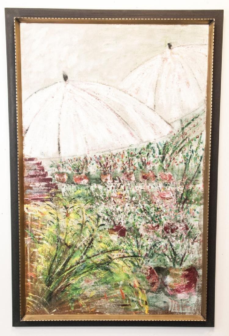 Impressionist Style Oil Painting Att. M Falkenberg