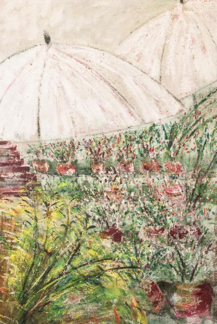 Impressionist Style Oil Painting Att. M Falkenberg - 3