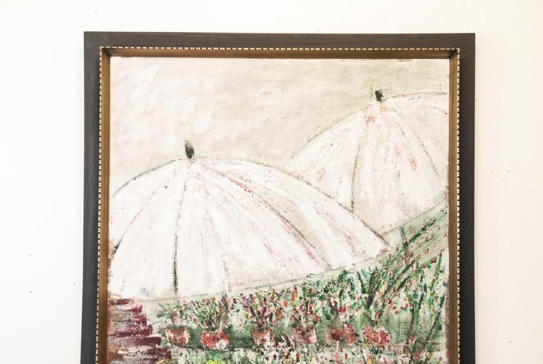 Impressionist Style Oil Painting Att. M Falkenberg - 5