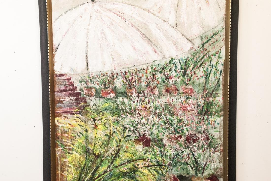 Impressionist Style Oil Painting Att. M Falkenberg - 6