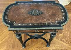 Antique 19th C Andre Charles Boulle French Table