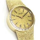 Estate Mid Century Rolex 14k Gold Ladies Watch