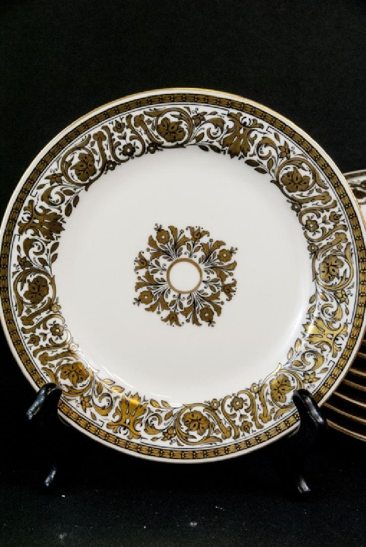 2 Sets of Antique China Porcelain Lunch Plates - 5