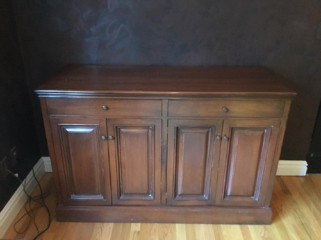 Traditional Style Walnut Credenza / Sideboard - 2