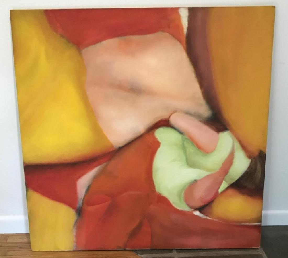Modernist Still Life Painting Att. Bill Matthews