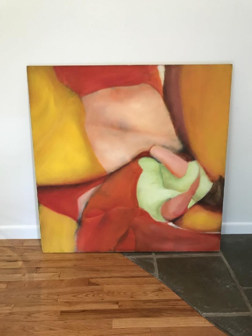 Modernist Still Life Painting Att. Bill Matthews - 4