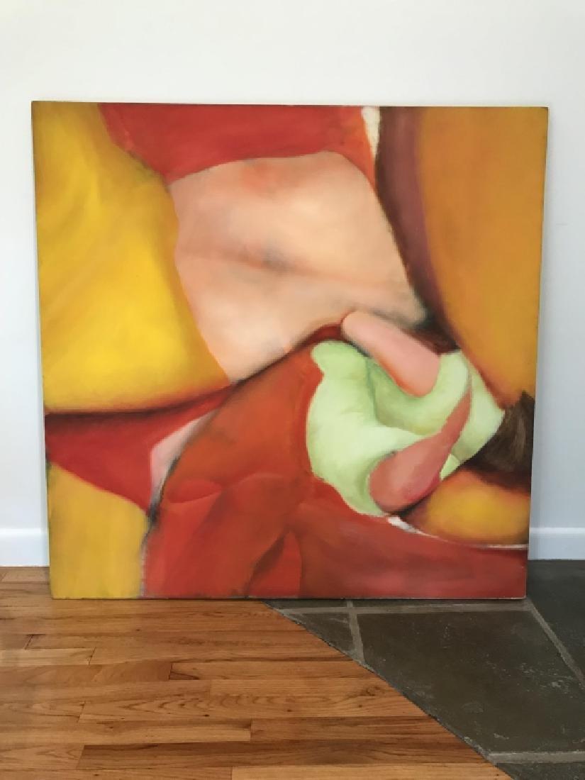 Modernist Still Life Painting Att. Bill Matthews - 6