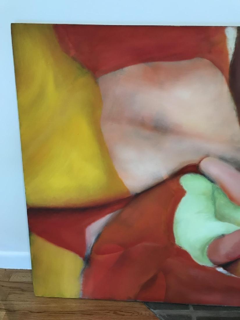 Modernist Still Life Painting Att. Bill Matthews - 9