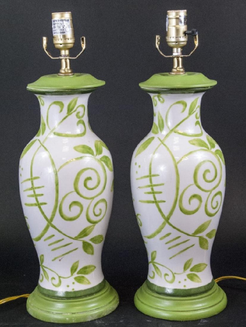 3 Small Majolica Candle Holders Handpainted Italy To Be Distributed All Over The World Antiques