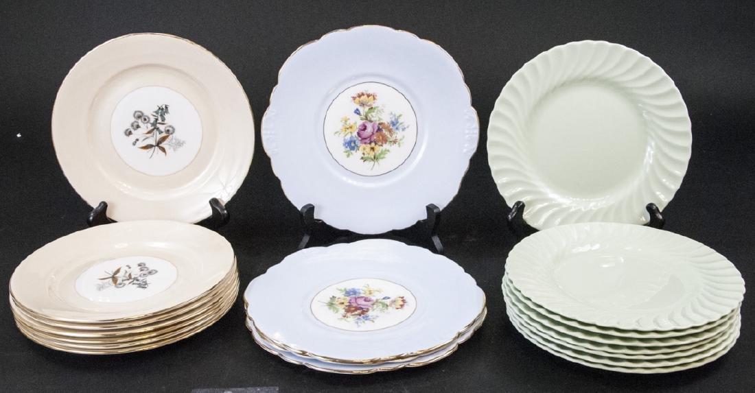 Lot of Porcelain Lunch / Salad Plates Incl. Minton