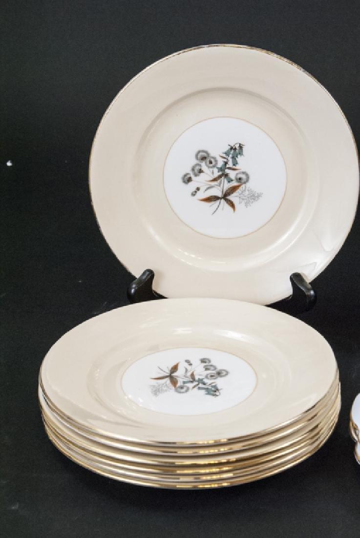 Lot of Porcelain Lunch / Salad Plates Incl. Minton - 2