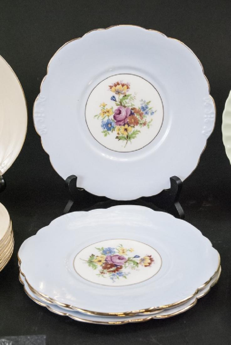 Lot of Porcelain Lunch / Salad Plates Incl. Minton - 3