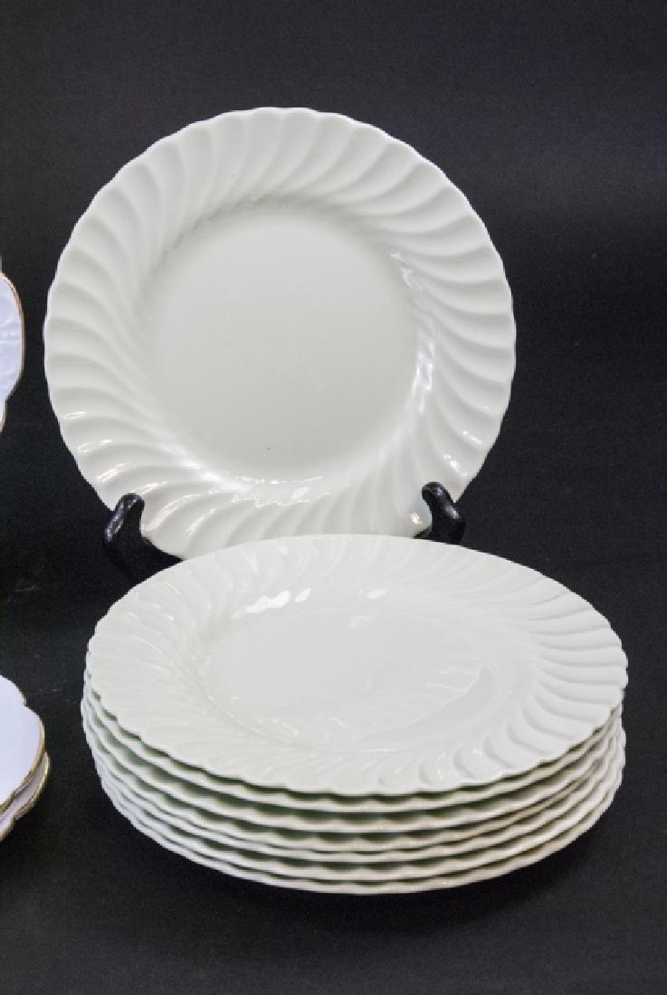 Lot of Porcelain Lunch / Salad Plates Incl. Minton - 4